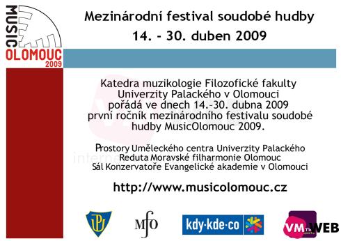 MusicOlomouc plakát