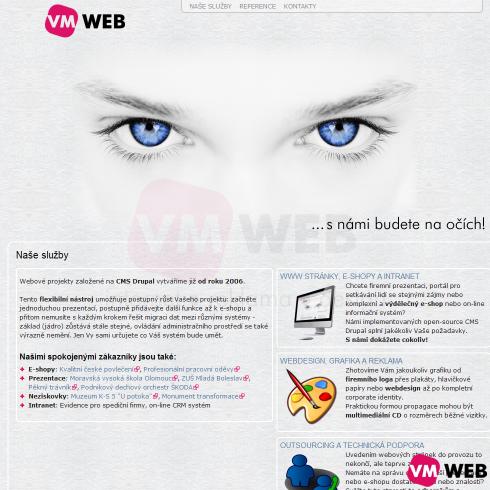 VMWeb homepage